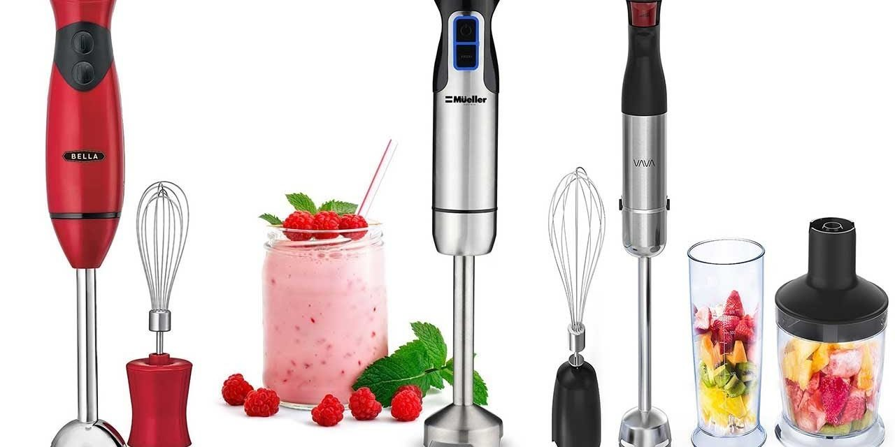 Best Hand Blenders – Reviews & Buying Guides